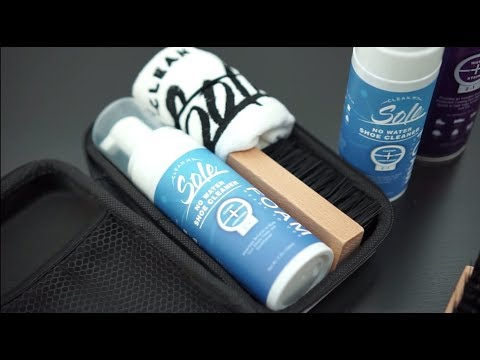 How to use Clean My Sole Premium Shoe Cleaner Kit