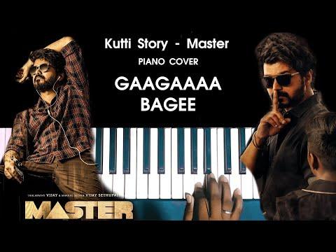 Kutti Story - Master Song Piano Cover WITH NOTES | Vijay | Anirudh | AJ Shangarjan