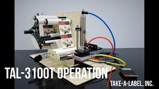 TAL-3100T Operation