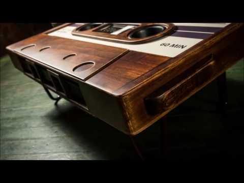 Cassette Tape Coffee Table Slideshow