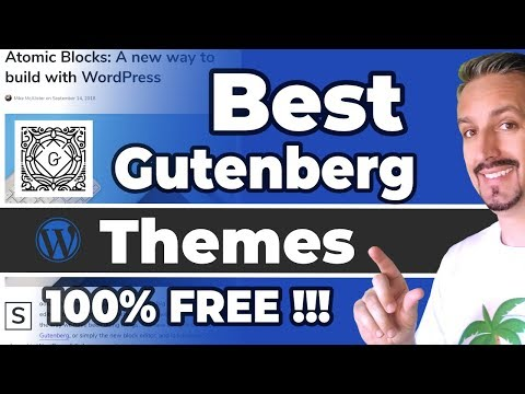 Best Gutenberg Compatible Themes (FREE)