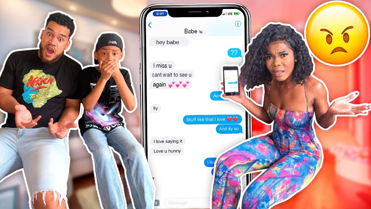 We WENT THROUGH Our 8 Year Old SON'S iPhone And Found THIS!! *A SECRET GIRLFRIEND?!?*