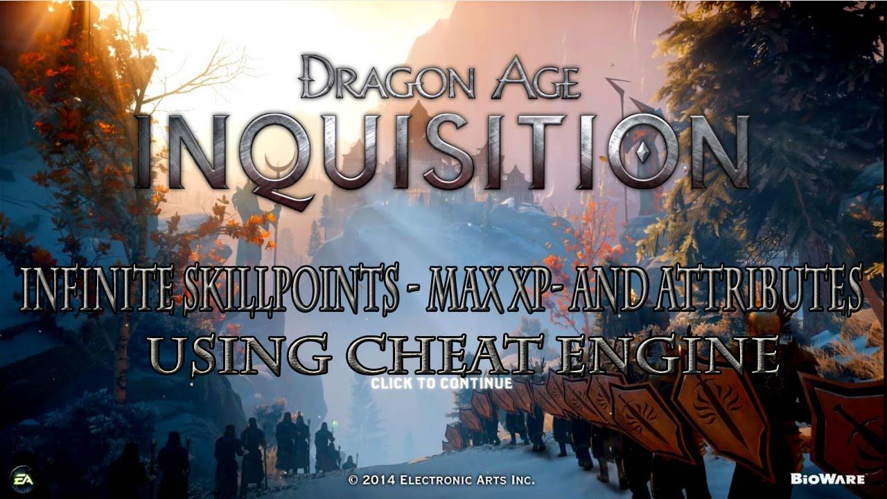 <b>Dragon Age Inquisition</b> PC: Max XP - Inf Skill Points &amp; Attributes ...