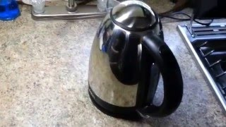 Aroma Electric Water Kettle Review 1.7L 1500Watts