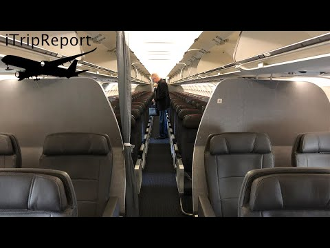(Ex US) American A319 First Class Review