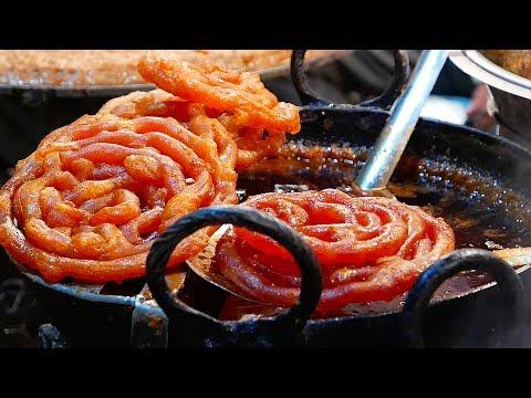 Indian Street Food - GIANT JALEBI