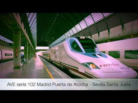 AVE 102 Pato Renfe Operadora en Sevilla Santa Justa