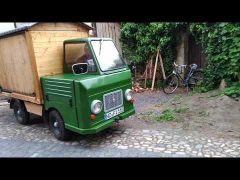 A car made from German Democratic Republic