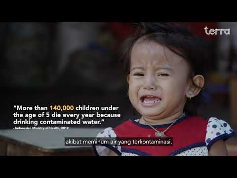 Terra Water: 100% Natural Water Filter for Better Indonesian Family