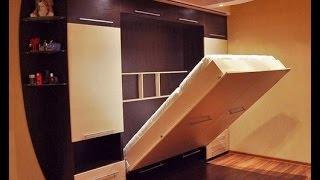 Шкаф кровать своими руками(Плохой звук, делайте погромче! Была задача из небольшой комнаты (13,5 метров квадратных) сделать нормальную..., 2014-07-07T18:04:39.000Z)