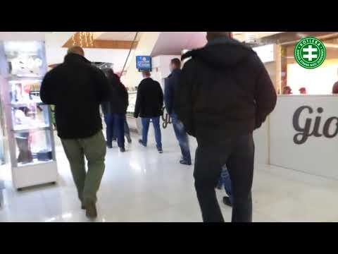 Občianske Hliadky V Obchodnom Centre V Nitre