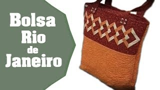 Patchwork Ana Cosentino: Bolsa Rio