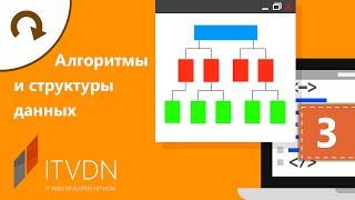 Видео курс Алгоритмы и структуры данных. Урок 3. Алгоритмы сортировки.