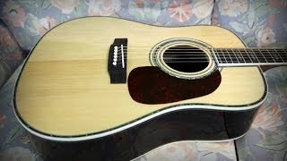 Unboxing Chinese Martin D45S copy