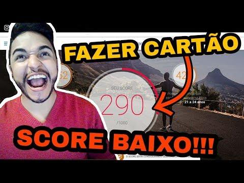 [NOVO] Como Conseguir CARTÃO DE CRÉDITO Com SCORE BAIXO??