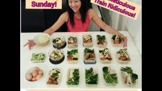 THE ULTIMATE GUIDE TO FOOD PREPPING - How to make 15 clean healthy meals in under 2 hours
