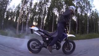 2015 alkukesä Yamaha dt 125