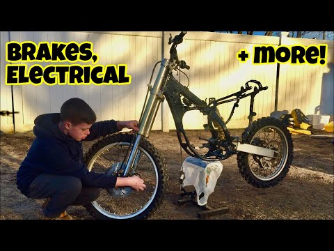 MAKING PROGRESS ON THE RM125! - Reassembling the Dirt Bike (Part 2)