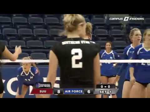 NCAA Volleyball 2016 Air Force vs Southern Utah
