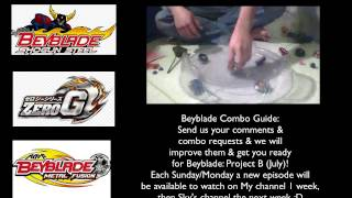 Beyblade Combo Guide is back! Prepare for Project B!