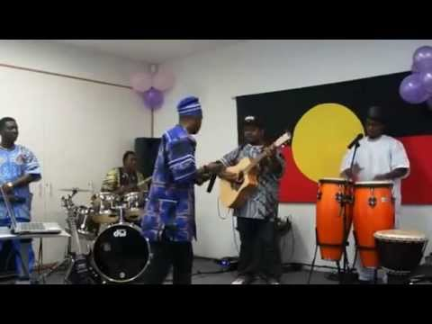 JAY BABA African Music Band Sydney Australia, Performing  during International Womens day 2013