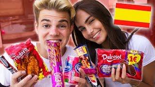 Wir testen SPANISCHE Süßigkeiten 😍🇪🇸 mit Marie!