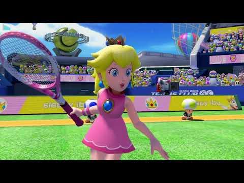 Mario Tennis Aces - 2018/8/18 MTACO3 matches (audio desync)