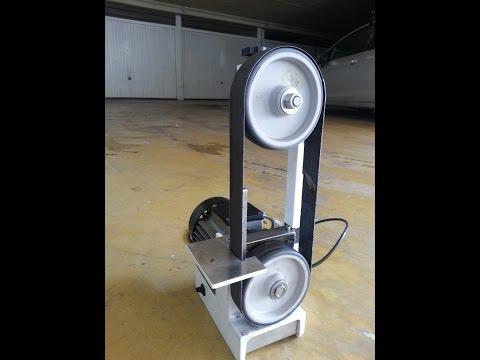 DIY - Mini Belt Sander (Levigatrice Sbavatrice a nastro)