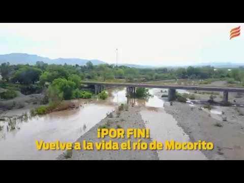 ¡POR FIN! Vuelve a la vida el río de Mocorito