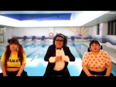 Psy  Gentleman Parody - Korean