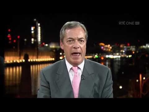 "Nigel Farage: ""Ultimately, Ireland will leave the EU too"" 