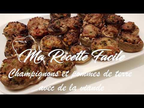 recette-de-champignons-et-pommes-de-terre-avec-de-la-viande---ma-recette-facile