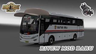 Euro Truck Simulator 2   Review Mod Bus Jetbus Setra Hino Adiputro