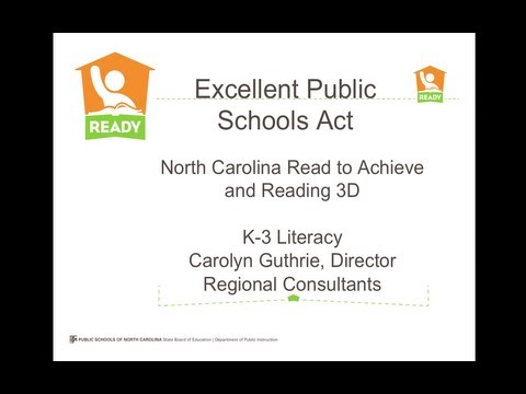 North Carolina Read to Achieve Narrated Powerpoint - OFFICIA