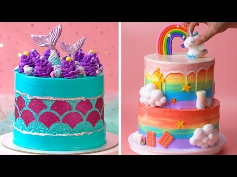 How To Make Cake For Your Coolest Family | So Yummy Birthday Cake Hacks | Perfect Cake Recipes