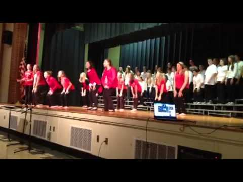 Puttin on the ritz jack jouett middle school choir