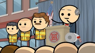 Firefighter's Day - Cyanide & Happiness Shorts