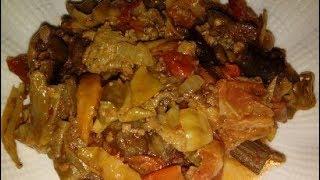 Malatya usulü kurutulmuş sebze yemeği / çok kolay tarifler