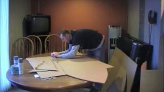 Cardboard Classic Test Sled Building With Chris Monroe.wmv