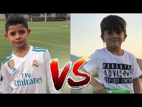 مقارنة بين إبن ميسي وإبن كريستيانو رونالدو - من الأفضل؟