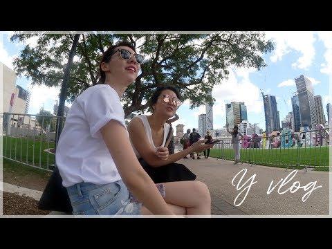 싱가폴 + 호주 브리즈번 👣 바쁜 멀티섹터 레이오버 즐기기! (ft.아시아 음식 🍽)