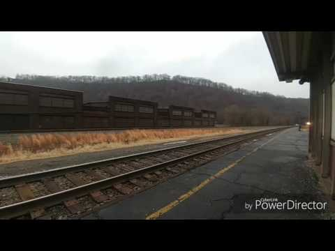 Amtrak Christmas day Johnstown and Altoona