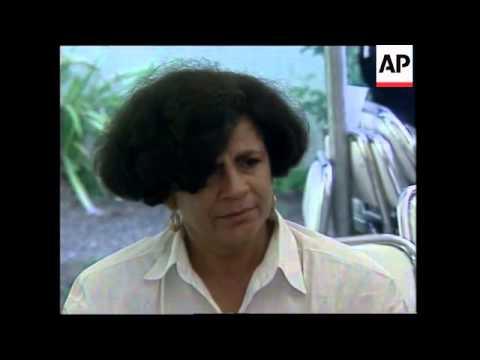 DOMINICAN REPUBLIC: AIR CRASH VICTIMS TRANSPORTED TO SANTO DOMINGO
