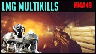 LIGHT MACHINE GUN MULTI KILLS | Melhores Momentos #49 Battlefield4