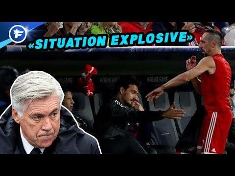 Franck Ribéry déclenche une crise au Bayern | Revue de presse
