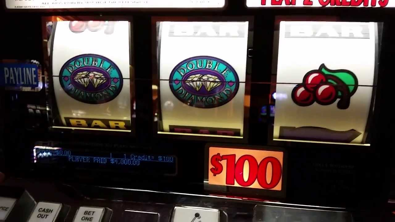 100 dollar slot machines