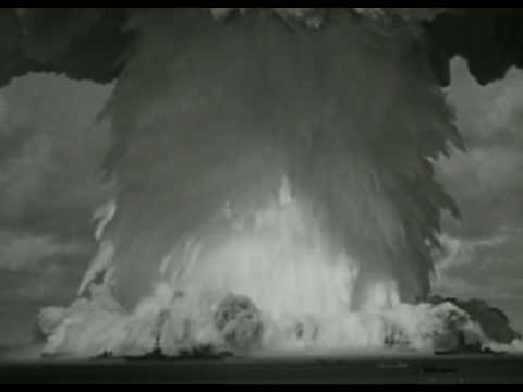 Nuclear Weapon Test Atomic Nuke Bomb Explosion - At Sea ...