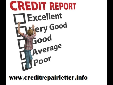 How to Repair Bad Credit in 20 Days using Simple Letter!
