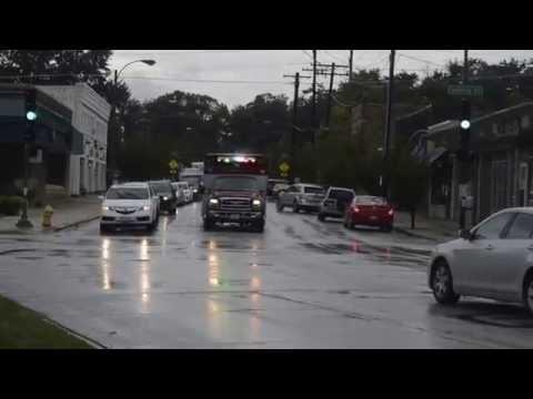 Bensenville Fire Protection: Medic 18 Responding