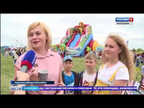 Краснослободск с размахом отметил Троицу